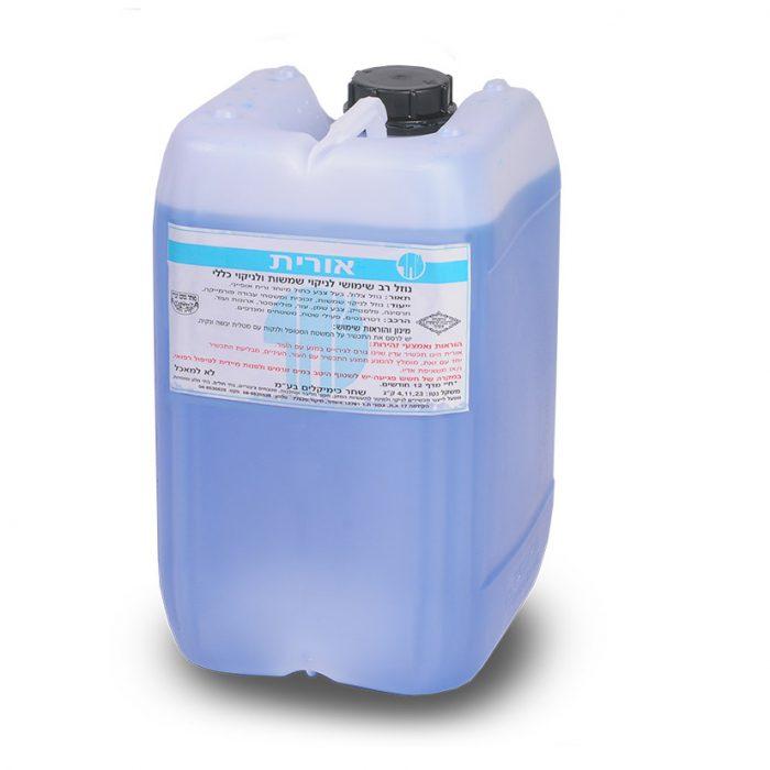 נוזל רב שימושי לניקוי שמשות וניקוי כללי